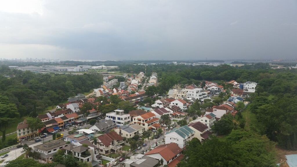 High Park Site Plan Layout :: Overlooking Jalan Kayu to Lower Seletar Reservoir